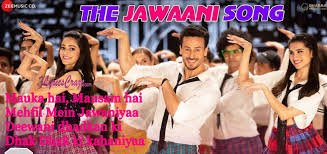 The Jawaani Song - Student of the year2