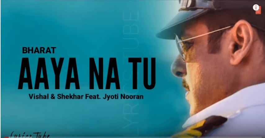 Aaya-Na-Tu-Lyrics-song bhrat