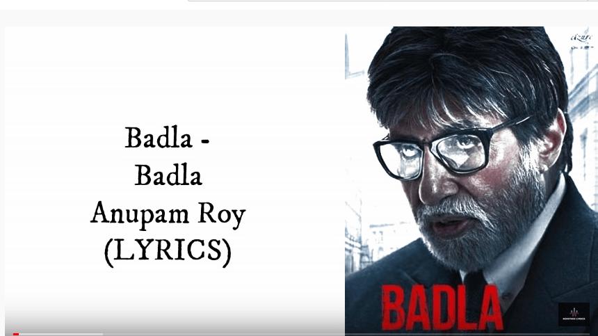 Badla Title Track Lyrics