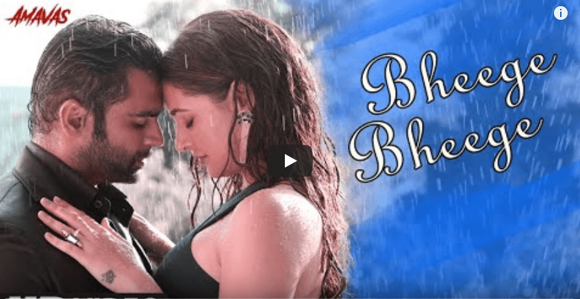 Bheege bheege lyrics amavas 2019