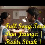 Tera Ban Jaunga - Kabir Singh (2019)