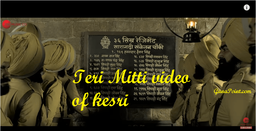 Teri Mitti video of kesri