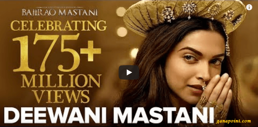 diwani mastani - Bajirao Mastani 2015