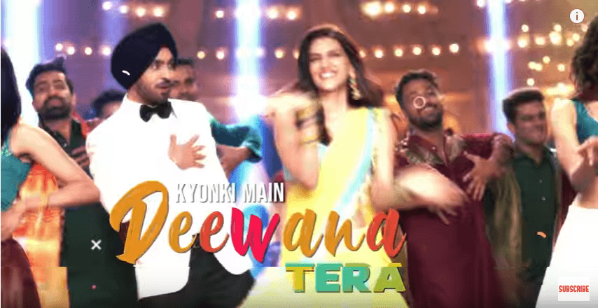 main deewana tera lyrics arjun patiala