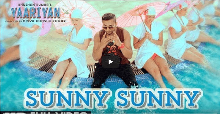 Sunny Sunny Yo Yo Honey Singh