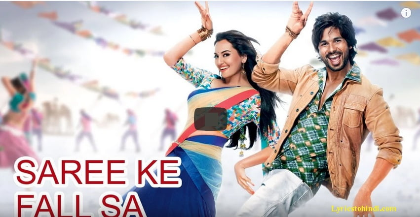 Saree Ke Fall Sa Song Lyrics