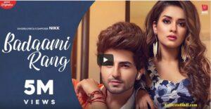 Badaami Rang lyrics - Nikk : Avneet Kaur