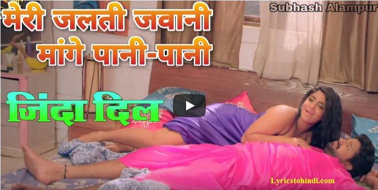 Meri Jalti Jawani Mange Pani Pani lyrics - Ritesh pandey