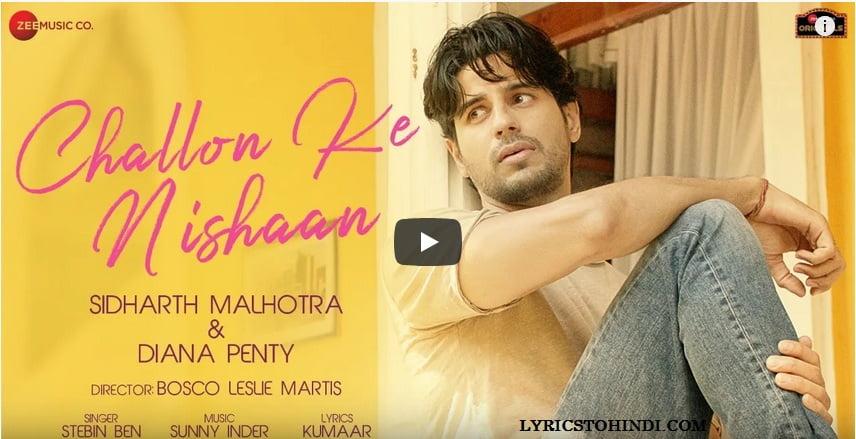 Challon Ke Nishaan lyrics - Stebin Ben