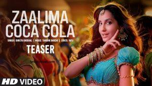 Zaalima Coca Cola lyrics, Zaalima Coca Cola lyrics in hindi, Zaalima Coca Cola lyrics, Zaalima Coca Cola song lyrics, Zaalima Coca Cola lyrics of Shreya Ghoshal, Zaalima Coca Cola lyrics byShreya Ghoshal, ज़ालिमा कोका कोला लिरिक्स इन हिंदी ,